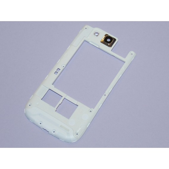 Samsung Galaxy S3 i9300 Mittel Rahmen Rahm Cover Kamera Linse