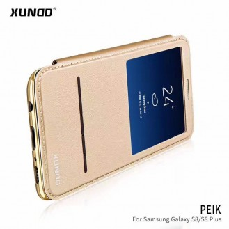 Xundo View Book Case Galaxy S8+ Gold