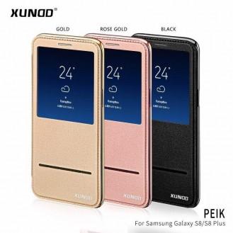 Xundo View Book Case Galaxy S8+ Schwarz