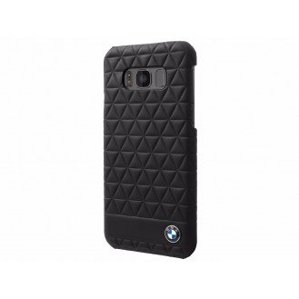 BMW Hard Case Embossed Hexagon Galaxy S8