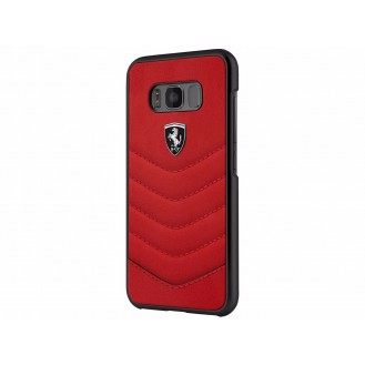 Ferrari Heritage Leder Hardcover Galaxy S8 Plus