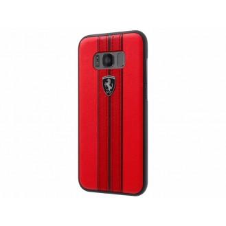 Ferrari Kunstleder Hardcover Samsung G950F Galaxy S8