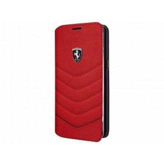 Ferrari Heritage Leder Book Case Galaxy S8 Plus