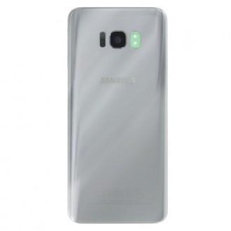 Samsung Galaxy S8 Backglass Akkufachdeckel G950F Silber