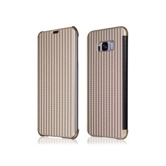 Book Case Galaxy S8 gold Plato