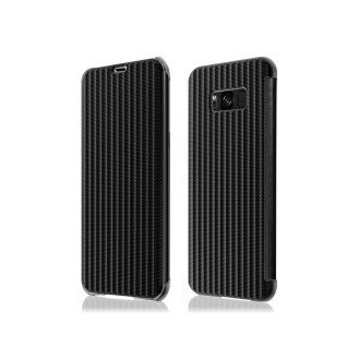 Book Case Galaxy S8 Schwarz Plato