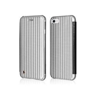 Book Case iPhone 7 Silber Plato