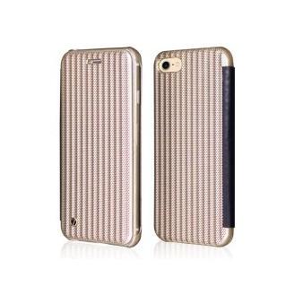 Book Case iPhone 7 Gold Plato
