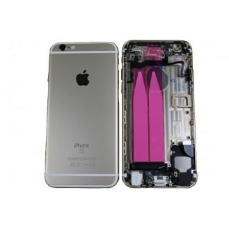 iPhone 6S Backcover Gehäuse Silber Vormontiert