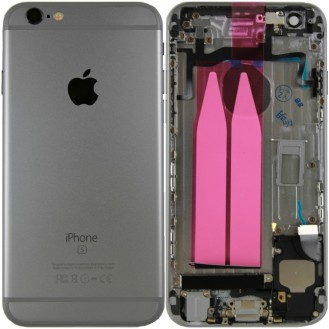 iPhone 6S Backcover Gehäuse Schwarz (Vormontiert !)