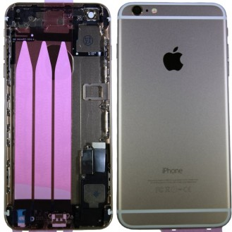 iPhone 6 Plus Backcover Gehäuse Gold Vormontiert