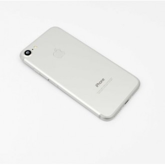 iPhone 7 Backcover Gehäuse Rahmen mit Tasten Vormontiert Silber