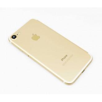 iPhone 7 Backcover Gehäuse Rahmen mit Tasten Vormontiert Gold