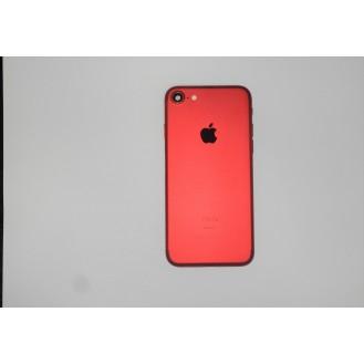 iPhone 7 Backcover Gehäuse Rahmen mit Tasten Vormontiert Rot