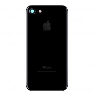 iPhone 7 Backcover Gehäuse Rahmen mit Tasten Vormontiert Jet Black