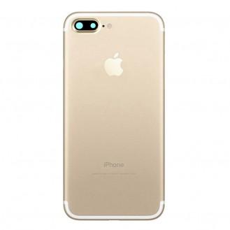 iPhone 7 Plus Backcover Gehäuse Rahmen mit Tasten Vormontiert Gold
