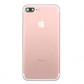 iPhone 7 Plus Backcover Gehäuse Rahmen mit Tasten Vormontiert Rosa Gold