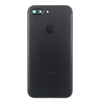 iPhone 7 Plus Backcover Gehäuse Rahmen mit Tasten Vormontiert Schwarz