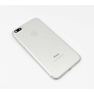 iPhone 7 Plus Backcover Gehäuse Rahmen mit Tasten Vormontiert Silber
