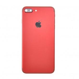 iPhone 7 Plus Backcover Gehäuse Rahmen mit Tasten Vormontiert Rot A1661, A1784, A1785