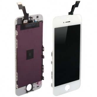 iPhone 5S LCD OEM Display Weiss A1453, A1457, A1518, A1528, A1530, A1533