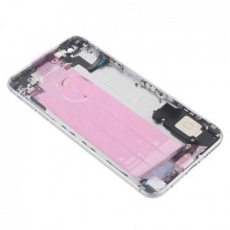 iPhone 6S Plus Backcover Gehäuse Silber Vormontiert A1634, A1687, A1699
