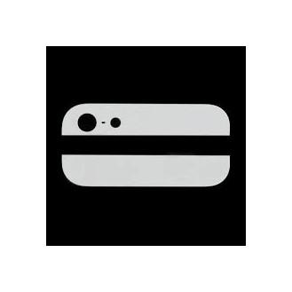 Kamera Back Rück Glas Oben Unten Abdeckung Weiss iPhone 5 A1428, A1429, A1442