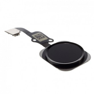 iPhone 6S Home Button Flexkabel + Home Button - Schwarz