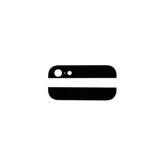 Kamera Back Rück Glas Oben Unten Abdeckung Schwarz iPhone 5