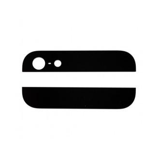 Kamera Back Rück Glas Oben Unten Abdeckung Schwarz iPhone 5 A1428, A1429, A1442