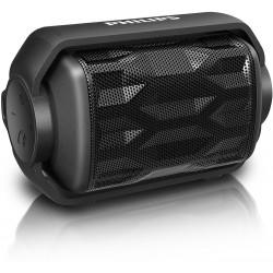 Philips BT2200B ShoqBox Bluetooth 2.8W Lautsprecher IPX6 Wasserdicht - schwarz