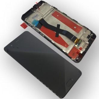 Huawei P10 Display LCD mit Rahmen Schwarz