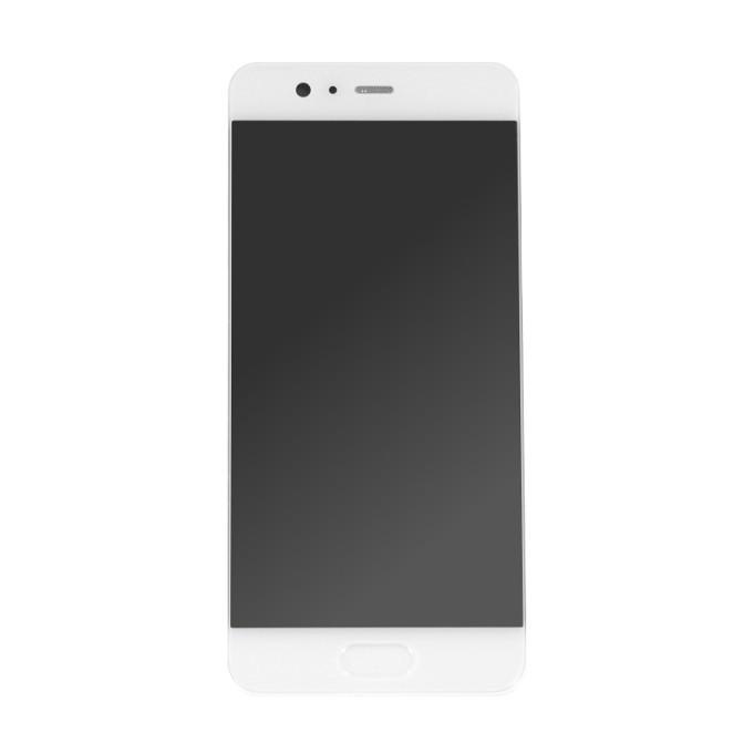 Huawei P10 Display LCD mit Rahmen Weiss