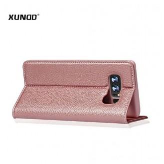 Rose Gold Edel Leder Etui Case Cover Galaxy Note 8