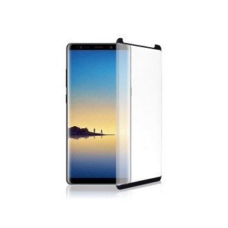3D Tempered Glass für Samsung N950F Galaxy Note8 Schwarz