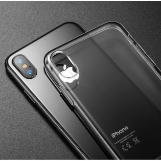 Transparent TPU Case für iPhone X Silikon Hülle