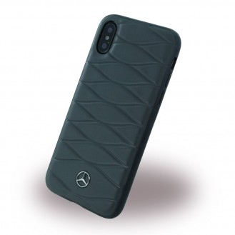 Mercedes Benz - Dynamic - Carbon Hardcover - iPhone X