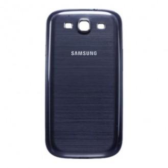 Galaxy S3 Akkudeckel Schale Battery Cover Gehäuse BLAU