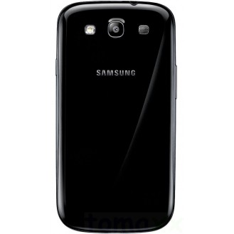 Galaxy S3 Akkudeckel Schale Battery Cover Gehäuse schwarz