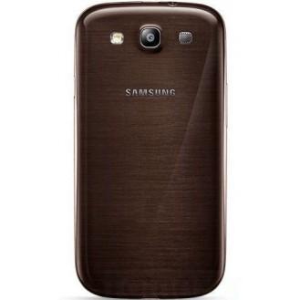 Galaxy S3 Akkudeckel Schale Battery Cover Gehäuse Braun