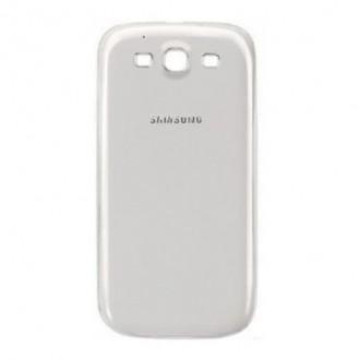 Galaxy S3 Akkudeckel Schale Battery Cover Gehäuse Weiss