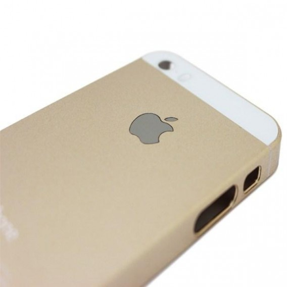 Gold Weiss Hart Case iPhone 5 / 5S / SE