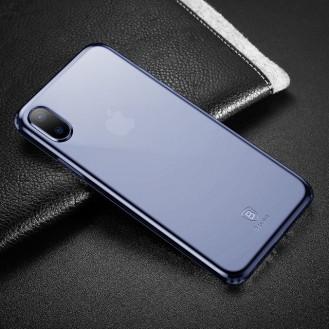 Baseus Silikon Case iPhone X Blau
