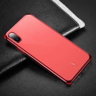 Baseus Silikon Case iPhone X Rot