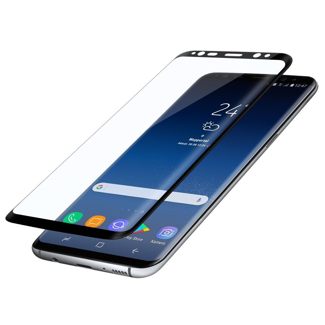 PanzerGlas folie Curved FULL SCREEN Note 8 N950F