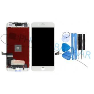 iPhone 8 Plus LCD AAA Display Weiss + Werkzeug
