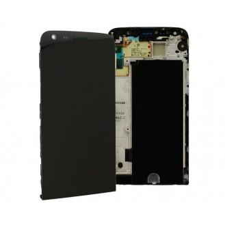 LG Optimus G5 H850 LCD Displaymit Rahmen Schwarz