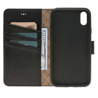 Bouletta Echt Leder iPhone X Book Wallet