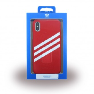 Adidas - Moulded - Hardcover - Apple iPhone X Rot