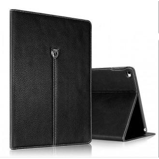XUNDD Leder Book Hülle iPad Pro 9.7 Schwarz